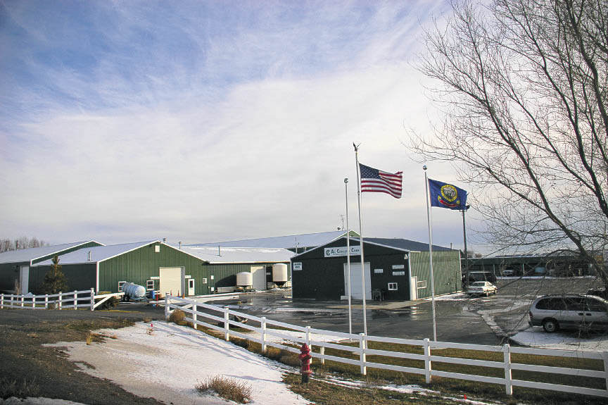 Ag Concepts' manufacturing facility in Bliss, ID