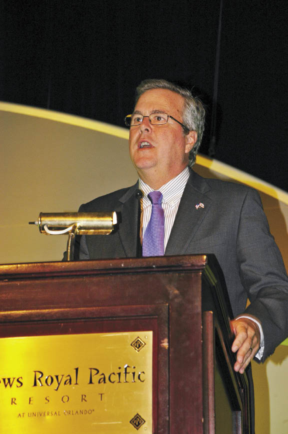 Former Florida Governor Jeb Bush