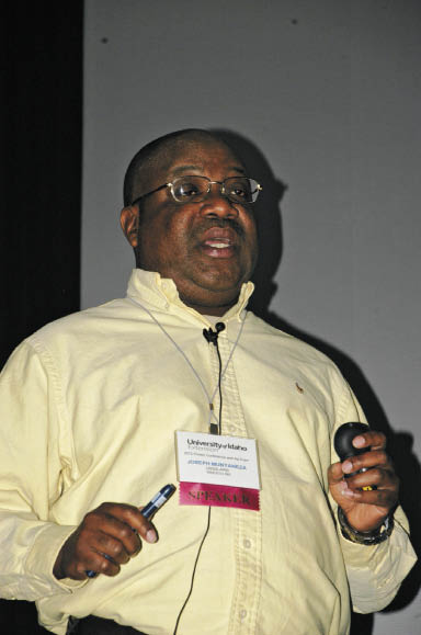 USDA Research Entomologist Dr. Joseph Munyaneza