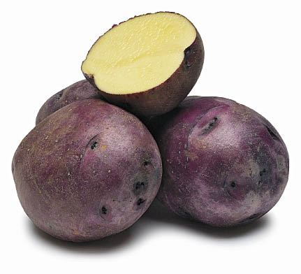 Huckleberry Gold potatoes