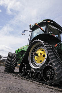Soucy S-Tech 800 Agricultural Track System